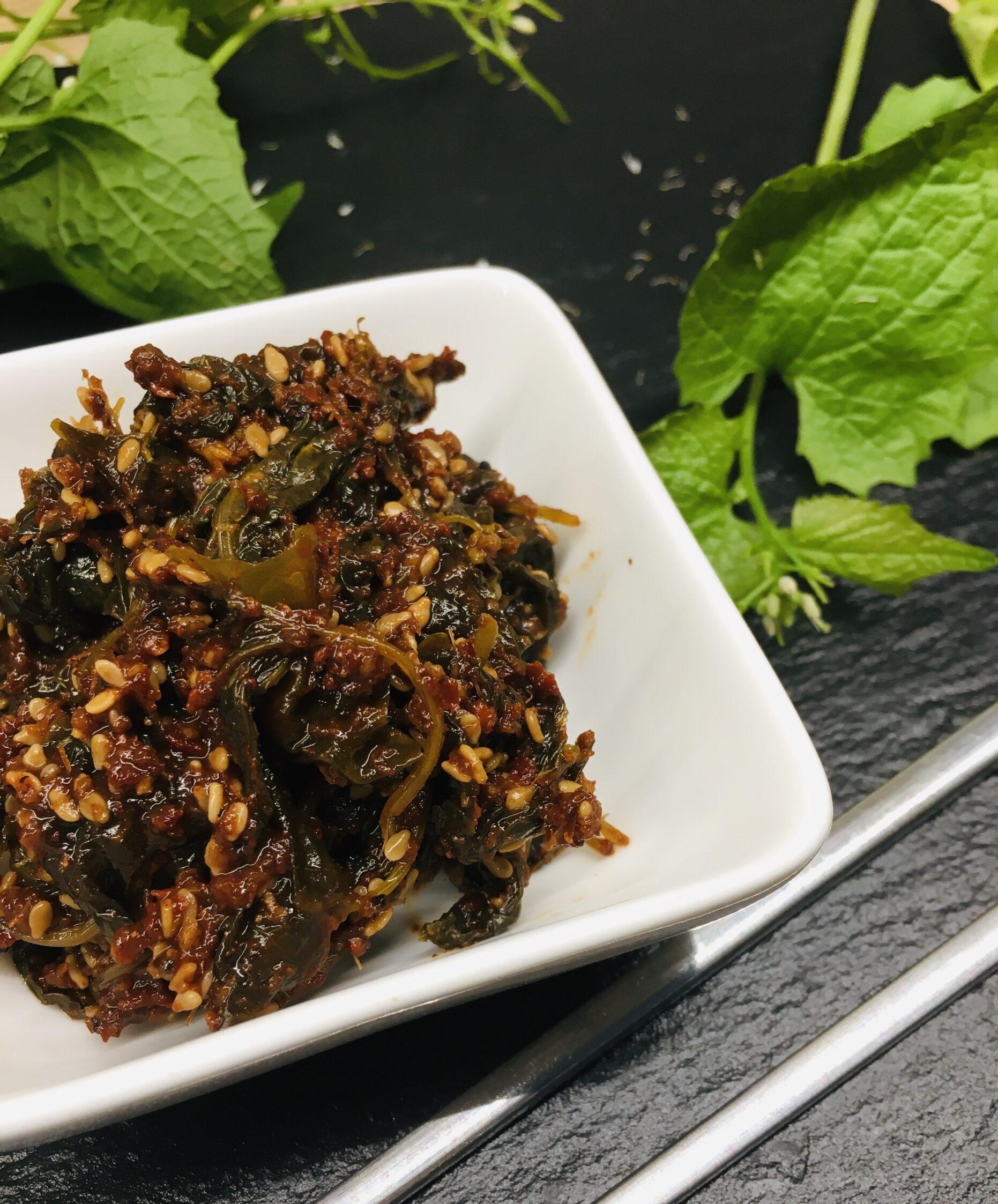 kimchi z czosnaczka